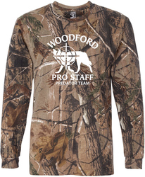 Code Five Realtree Camo Long Sleeve T-Shirt with Design