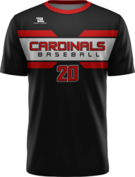 Lite Sublimated Quick-Turn Crew Neck Baseball Jersey