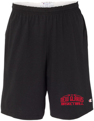 "Cotton Jersey 9"" Shorts with Pockets with Design"
