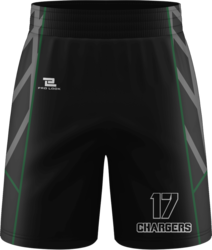 Sublimated Prolook Team Shorts with Pockets