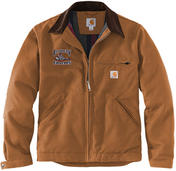 Carhartt Duck Detroit Jacket with Design