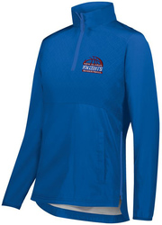Seriesx 1/4-Zip Lightweight Jacket with Design