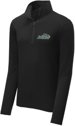 Tri-Blend Wicking 1/4-Zip Pullover with Design