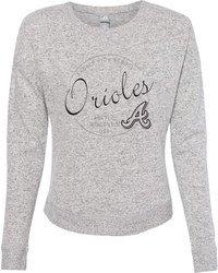Women's Cozy Jersey Crewneck Sweatshirt with Design