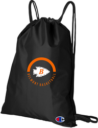 Core Cinch Bag with Design