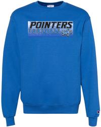Double Dry Crewneck Sweatshirt with Design