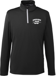 Icon 1/4-Zip Pullover with Design
