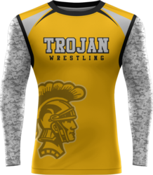 Sublimated Prolook Long Sleeve Compression Top