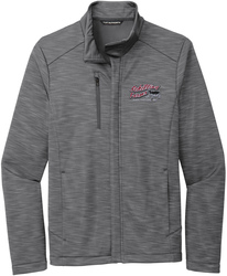 Stream Soft Shell Full-Zip Jacket with Design