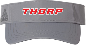Adidas Poly Textured Visor with Design
