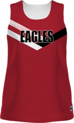 Sublimated Augusta Ladies Freestyle Traditional Track Jersey
