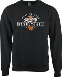Badger C2 Fleece Crew Sweatshirt with Design