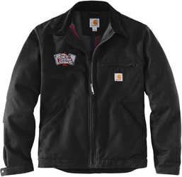 Carhartt Tall Duck Detroit Jacket with Design
