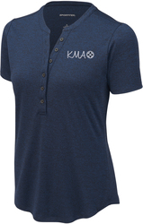 Ladies Endeavor Henley Sport Shirt with Design