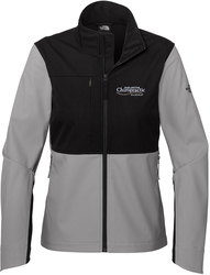Ladies Castle Rock Soft Shell Full-Zip Jacket with Design
