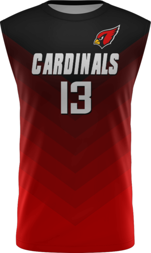 Sublimated Prolook Mens Sleeveless Volleyball Jersey