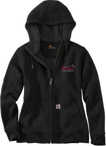 Carhartt Women's Clarksburg Full-Zip Hooded Sweatshirt with Design