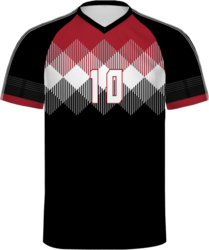 Sublimated Augusta Freestyle V-Neck Soccer Jersey
