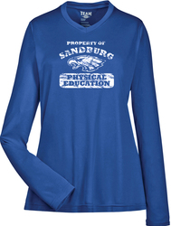 Ladies Zone Performance Long Sleeve T-Shirt Front