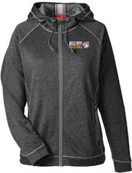 Ladies Excel Melange Performance Fleece Jacket